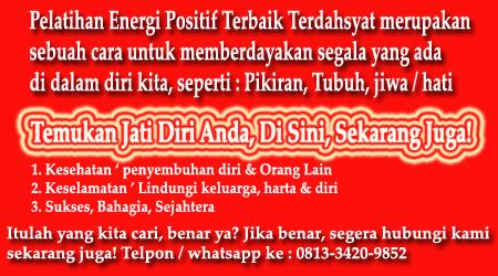 Pelatihan Energi Positif