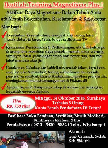 Pelatihan Magnetisme Surabaya