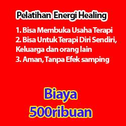 pelatihan energi healing