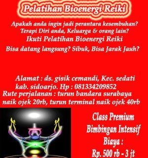 Bioenergi Reiki Surabaya